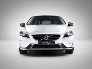 Volvo V40 Carbon Edition blanc glace