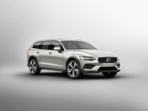 Volvo V60 Cross Country gris vue avant