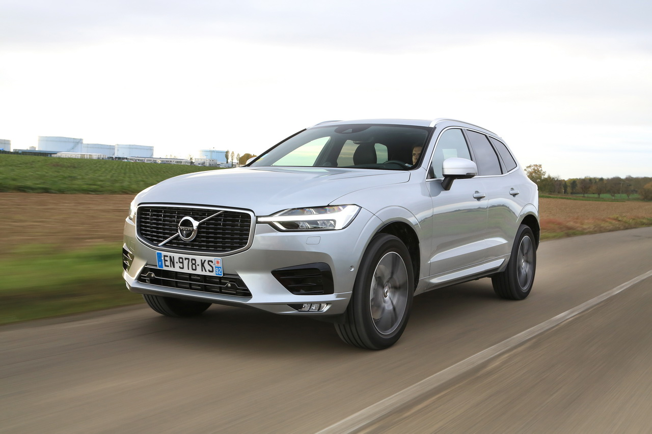 le volvo xc60 distingu aux troph es argus 2018 photo 1 l 39 argus. Black Bedroom Furniture Sets. Home Design Ideas