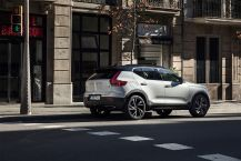 Statique urbain Volvo XC40 T5 AWD R-Design