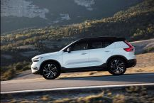 Statique en descente Volvo XC40 T5 AWD R-Design