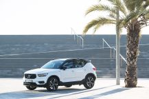 Statique 3/4 AV Volvo XC40 T5 AWD R-Design