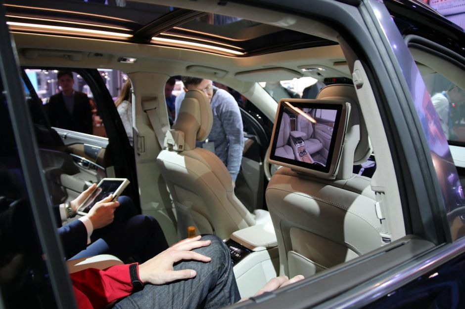 intrieur volvo xc90 excellence salon shanghai 2015
