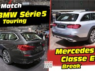 BMW Série 5 Touring (2017) vs Mercedes Classe E break : déjà le match