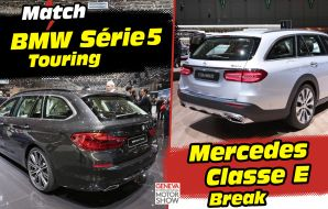 Mercedes Classe E break vs BMW Série 5 touring