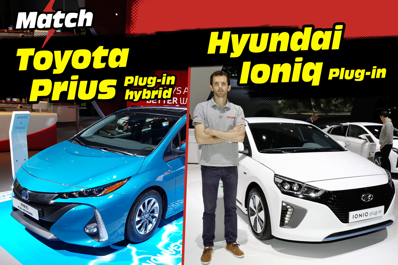 toyota prius vs hyundai ioniq le match des hybrides rechargeables l 39 argus. Black Bedroom Furniture Sets. Home Design Ideas