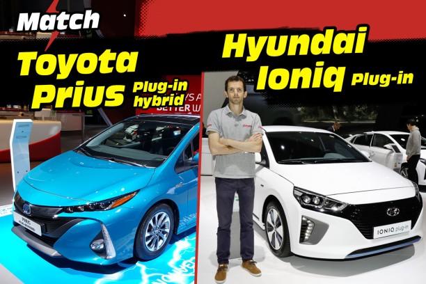 toyota prius vs hyundai ioniq le match des hybrides rechargeables l 39 argus. Black Bedroom Furniture Sets. Home Design Ideas