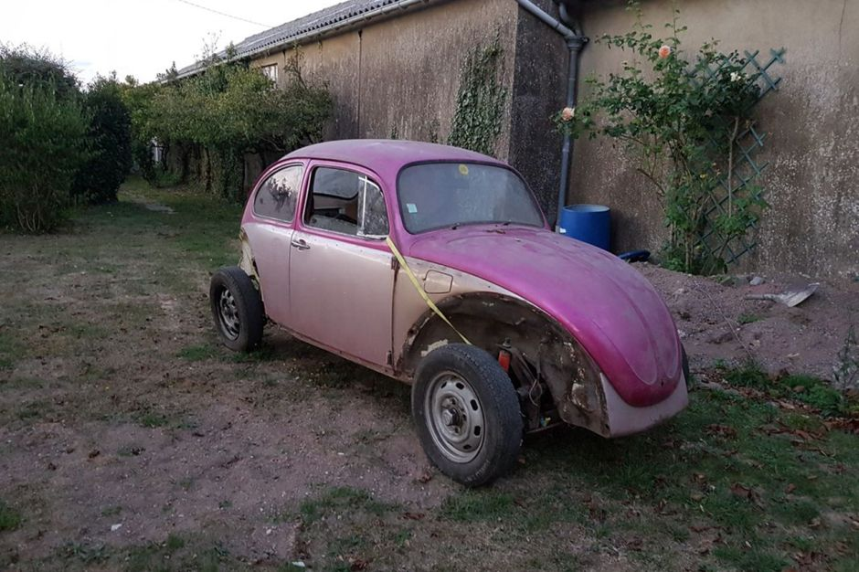 Sorties De Grange Des Pepites Denichees Sur Leboncoin Volkswagen Coccinelle Chassis Pour Pieces L Argus