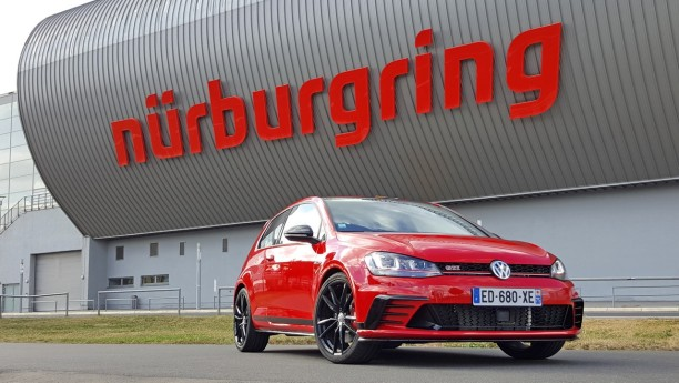 essai extr me la vw golf gti clubsport se frotte au n rburgring l 39 argus. Black Bedroom Furniture Sets. Home Design Ideas