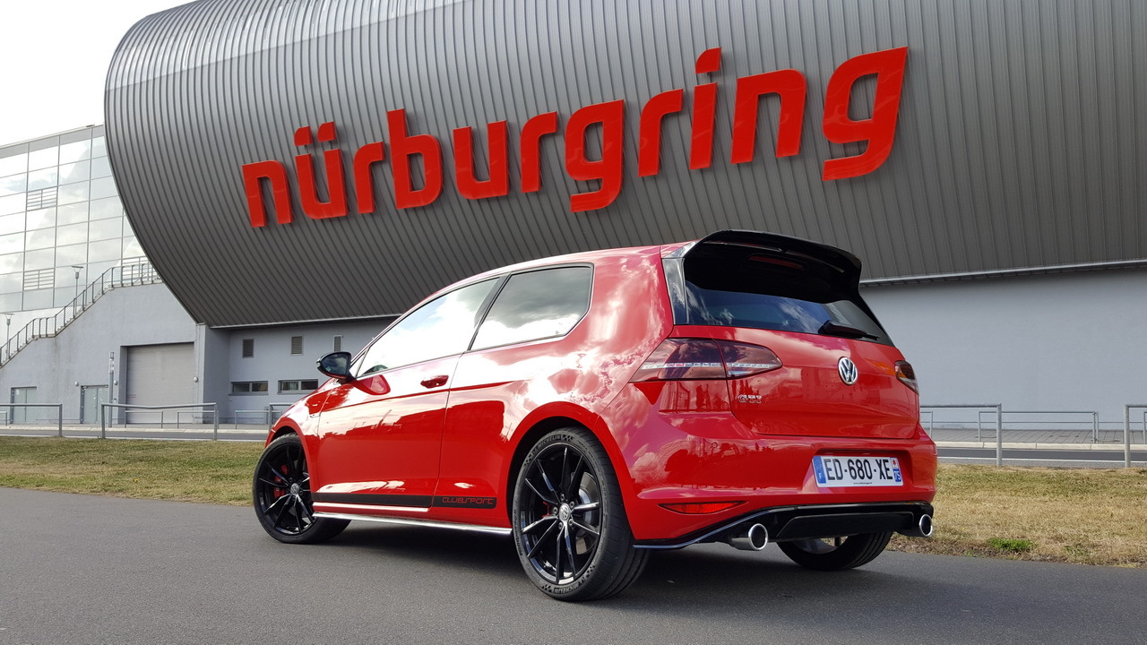 essai extr me la vw golf gti clubsport se frotte au n rburgring photo 2 l 39 argus. Black Bedroom Furniture Sets. Home Design Ideas