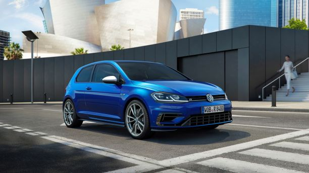 volkswagen golf r 2017 10 chevaux de plus et du malus l 39 argus. Black Bedroom Furniture Sets. Home Design Ideas