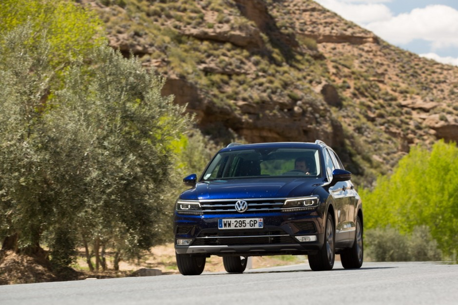 essai volkswagen tiguan 2016 notre avis sur le tdi 190 4x4 dsg7 photo 1 l 39 argus. Black Bedroom Furniture Sets. Home Design Ideas
