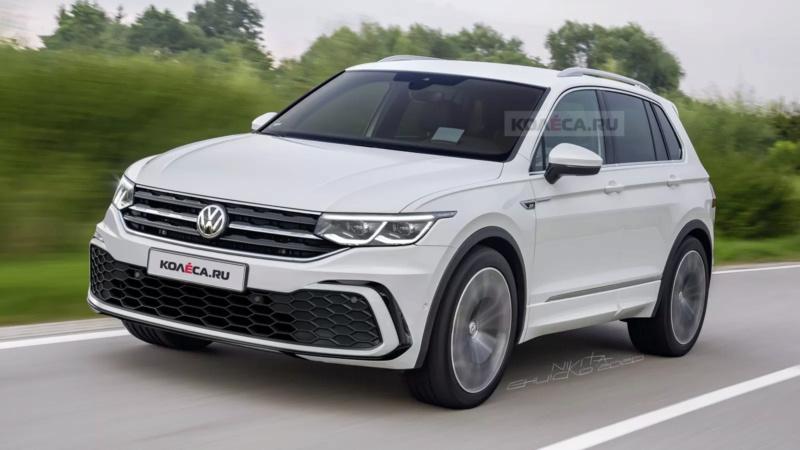 Volkswagen Tiguan restylé (2020) : des airs de Golf 8