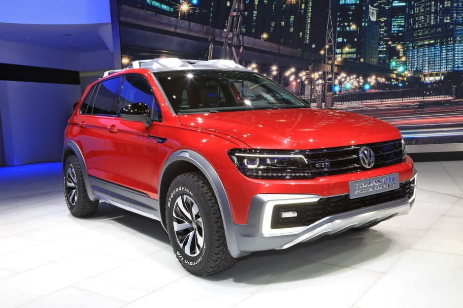 volkswagen tiguan gte active concept le tiguan baroudeur de detroit photo 30 l 39 argus. Black Bedroom Furniture Sets. Home Design Ideas