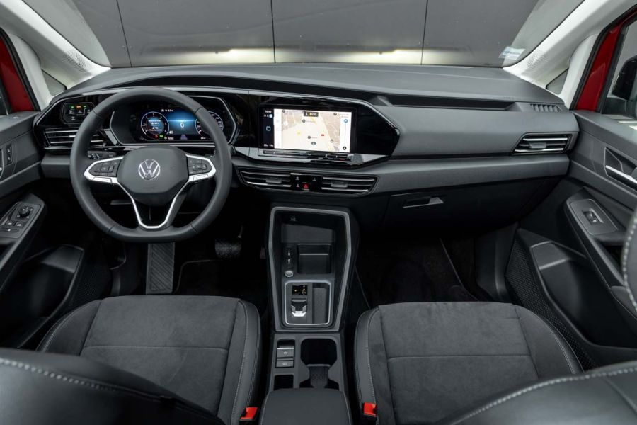 Essai Volkswagen Caddy (2021). Le ludospace chic - Photo ...