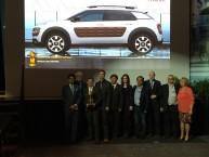 Salon de New-York : la Citroën C4 Cactus primée pour son design