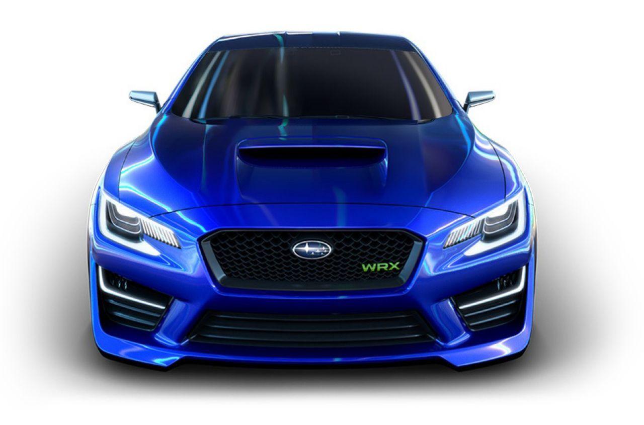 Francfort 2013 : Subaru exposera les concept-cars Viziv et WRX