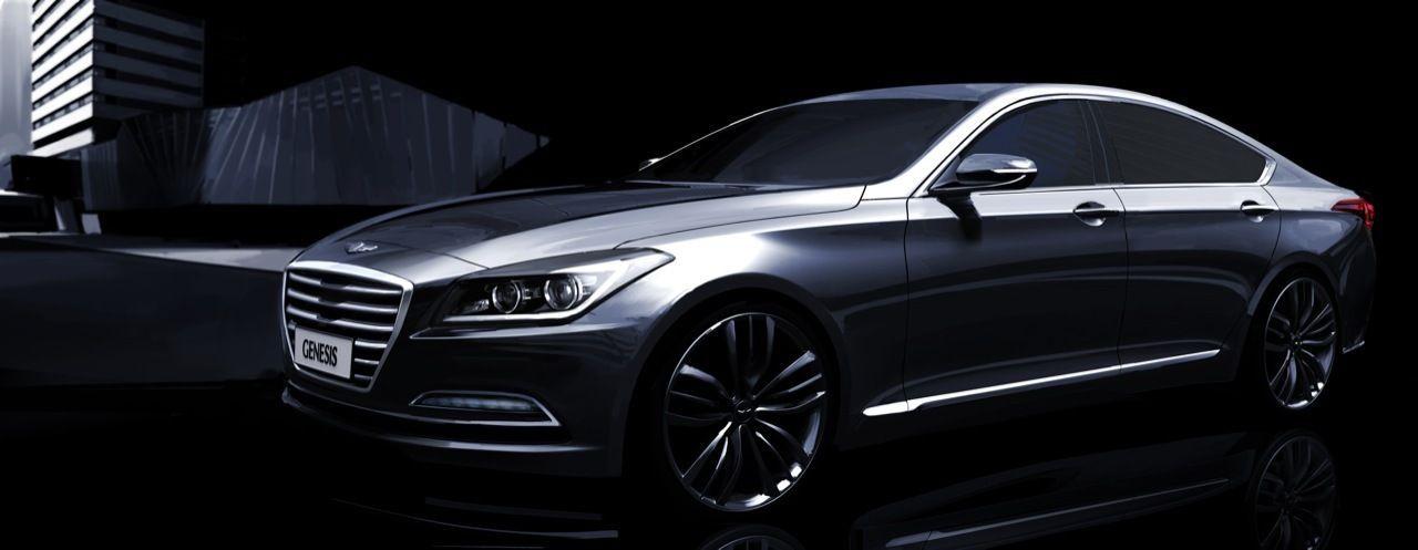 Hyundai Genesis 2015, les premières images officielles
