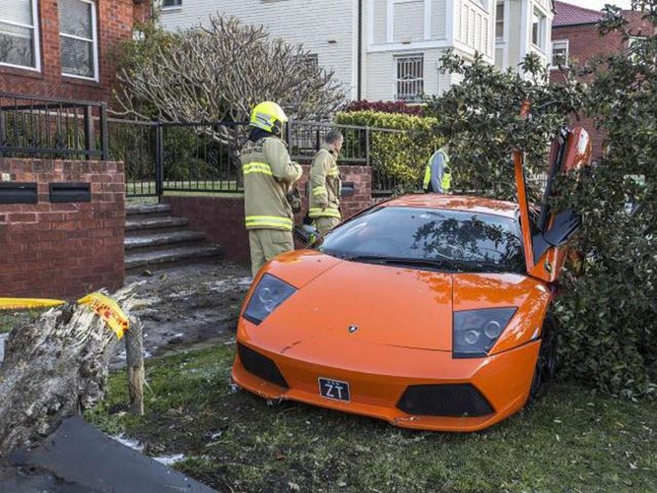 Fail : il détruit la Lamborghini Murcielago qu'il souhaitait vendre