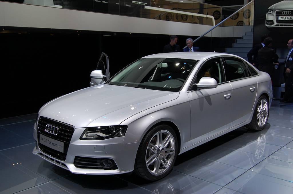 Non, ce n'est pas une Audi A5 !