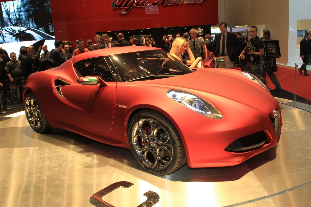 Un coupé Alfa à moteur central à Genève !