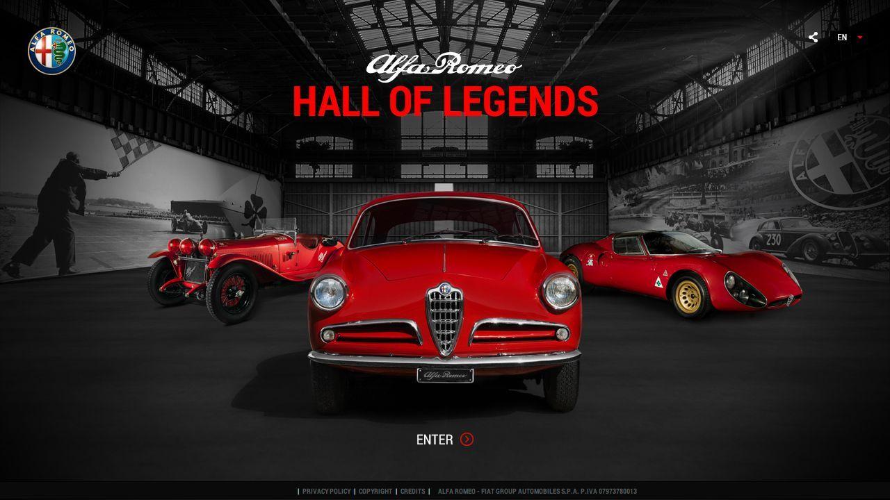 Visite virtuelle : découvrez le Hall of Legends d'Alfa Romeo