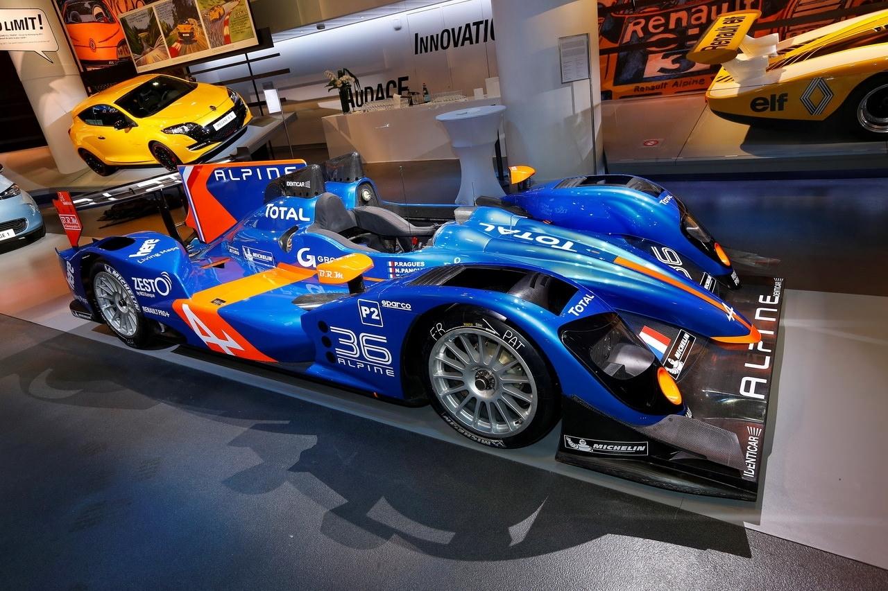 500 ch pour l'Alpine n°36 qui participera aux 24 Heures du Mans 2013