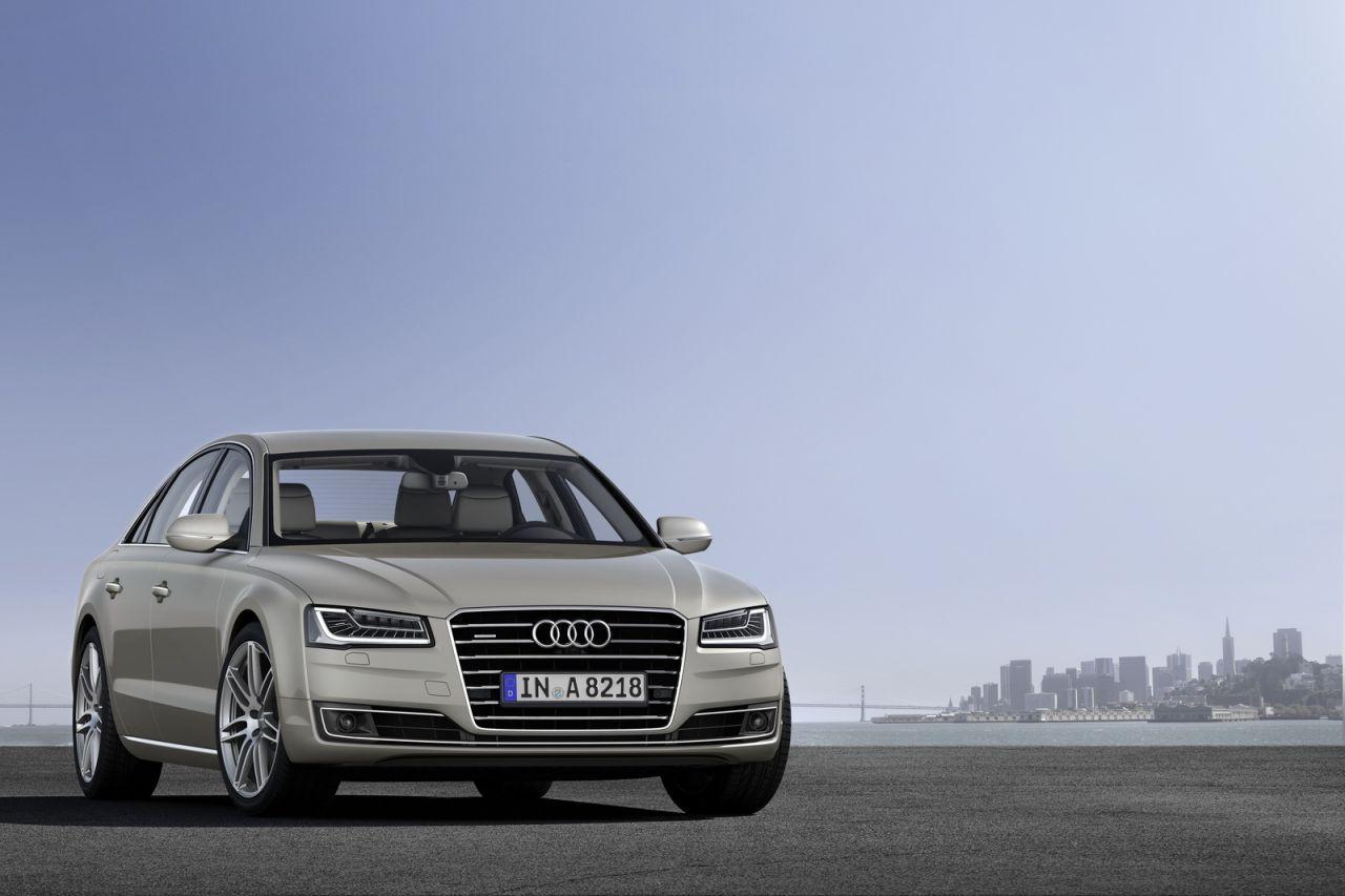 VIDEO : Audi A8 2014