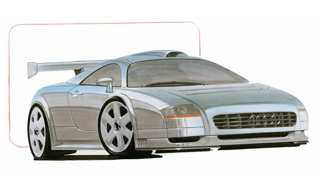 Audi G-TT et TT GT1 : l'histoire secrète de ces projets abandonnés