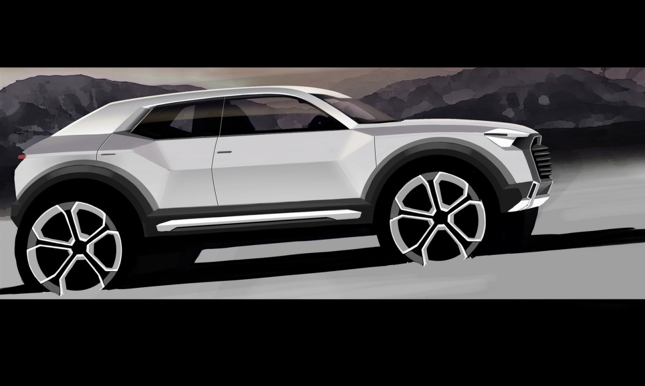 Audi confirme l'arrivée du Q1 pour 2016