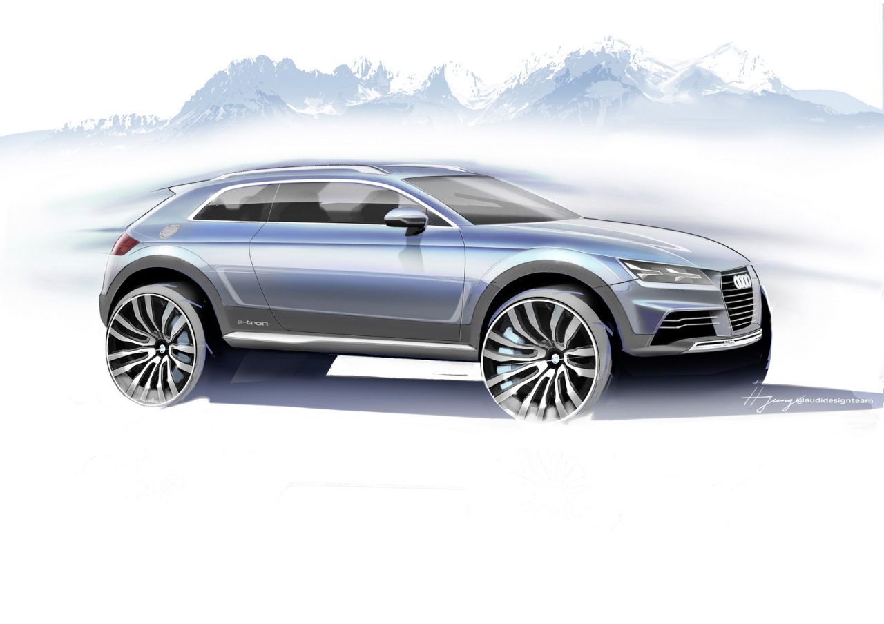 Salon Detroit 2014 : un concept Audi évoquant la future Audi Q2