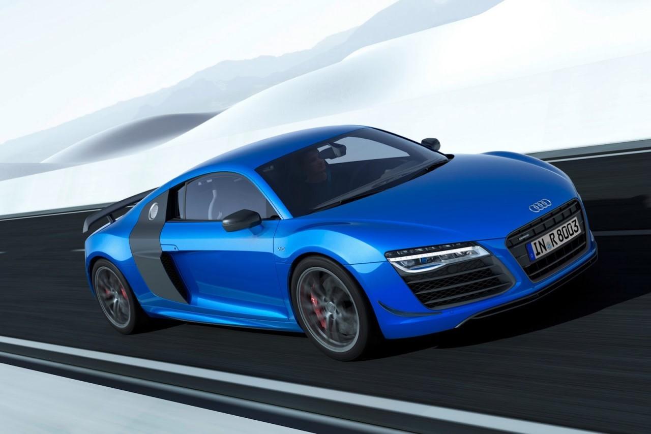 L'Audi R8 LMX dotée de l'éclairage laser