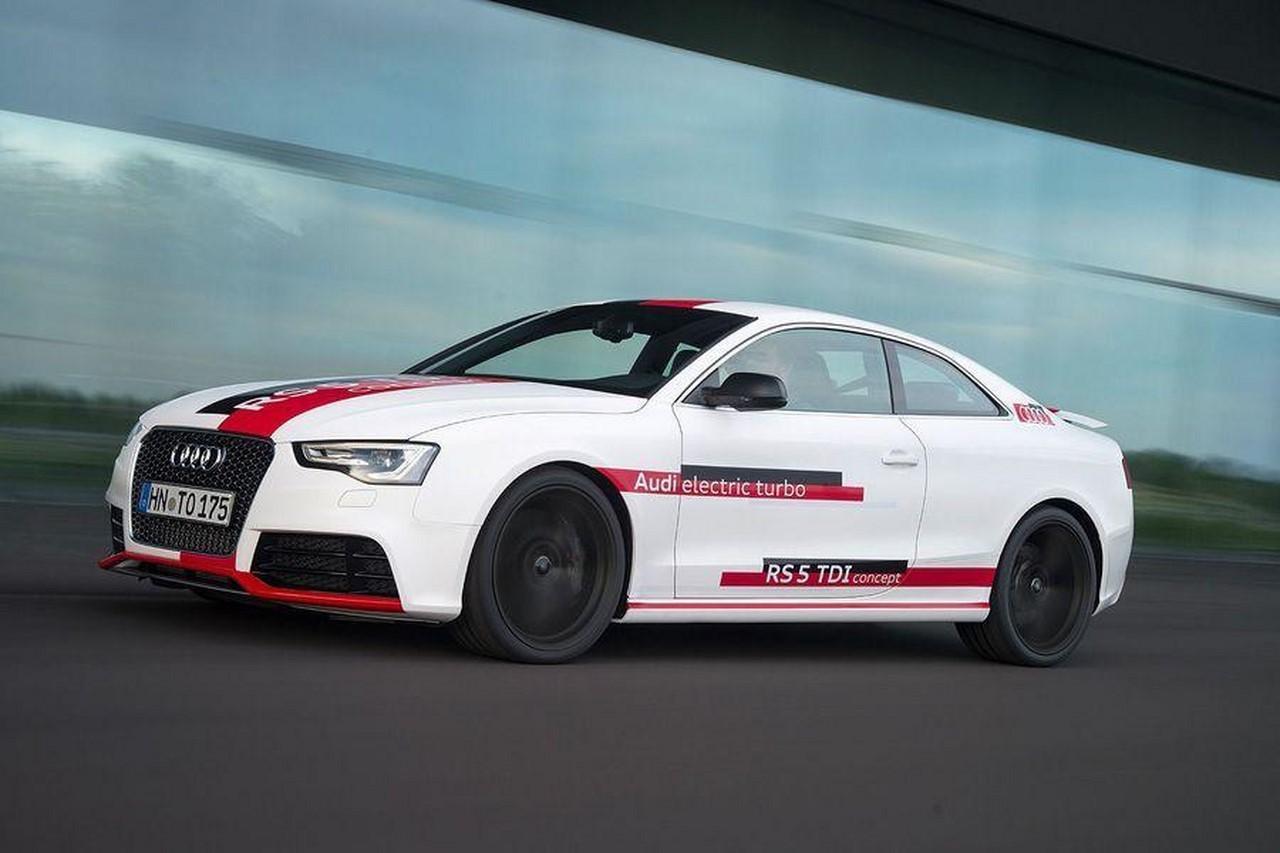 Audi RS 5 TDI-e : une RS 5 Diesel à turbo électrique