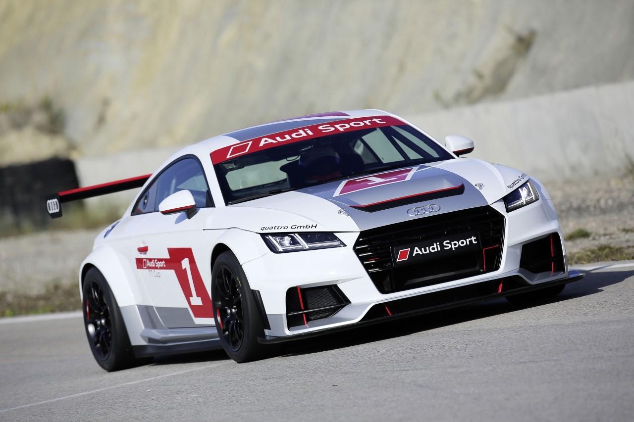 Audi Sport TT Cup : une nouvelle formule monotype pour Audi