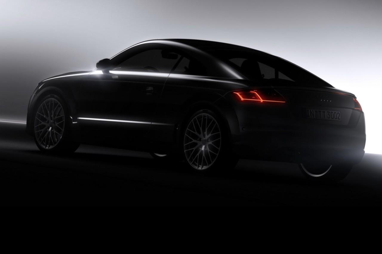 Première image de la nouvelle Audi TT