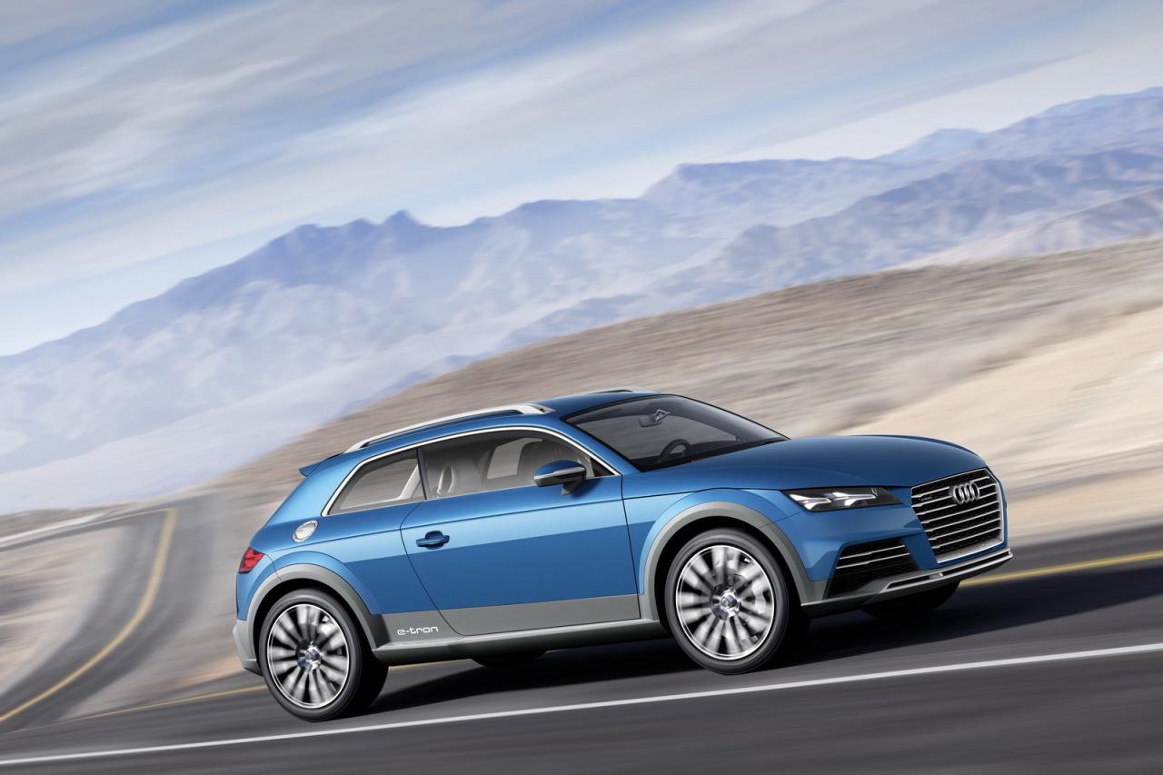 Salon Detroit 2014 : Audi Allroad Shooting Brake Concept