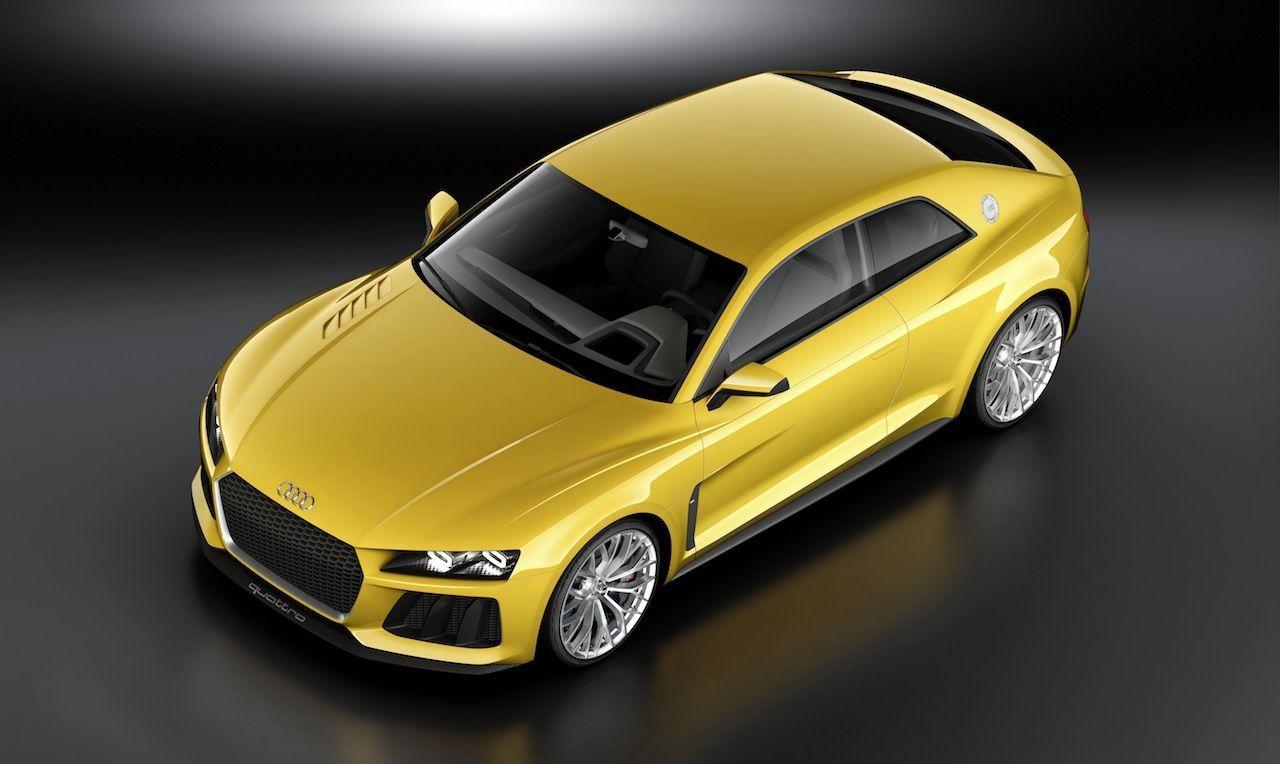 Francfort 2013 : nouveau concept Audi Sport Quattro