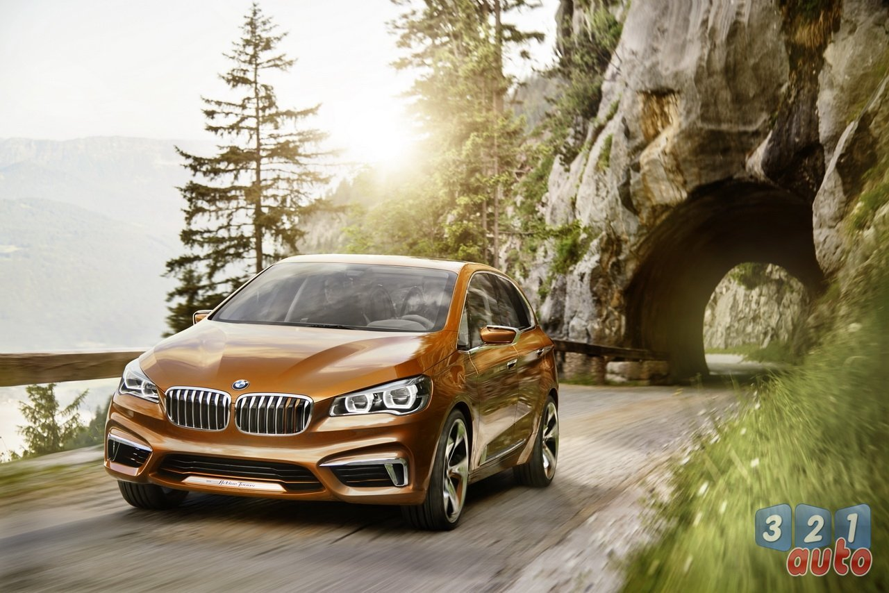 BMW décline le concept Active Tourer en une version baroudeuse Outdoor