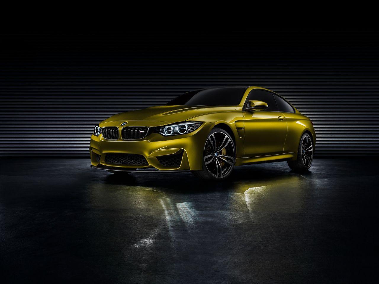 BMW Concept M4 Coupé : la remplaçante de la M3 se montre