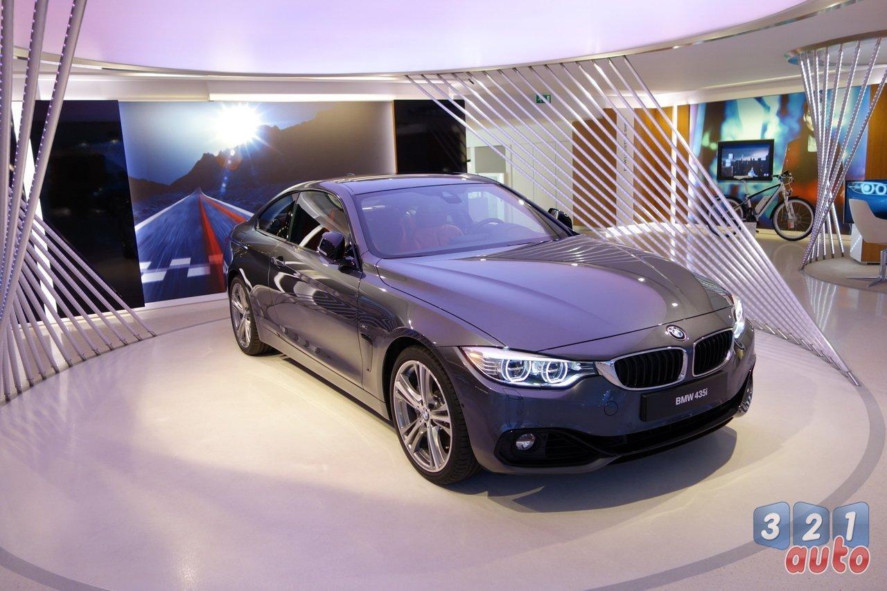 Nous sommes montés à bord de la BMW Série 4 Coupé