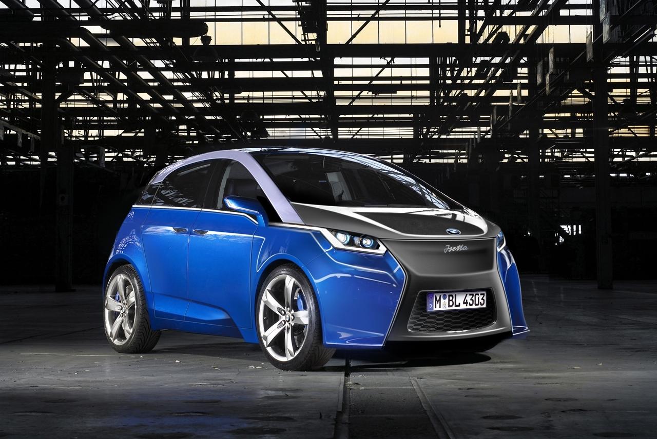 Les secrets de la Future BMW électrique
