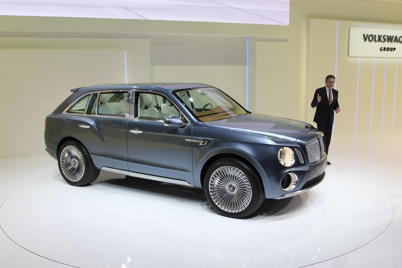 Un SUV chez Bentley...