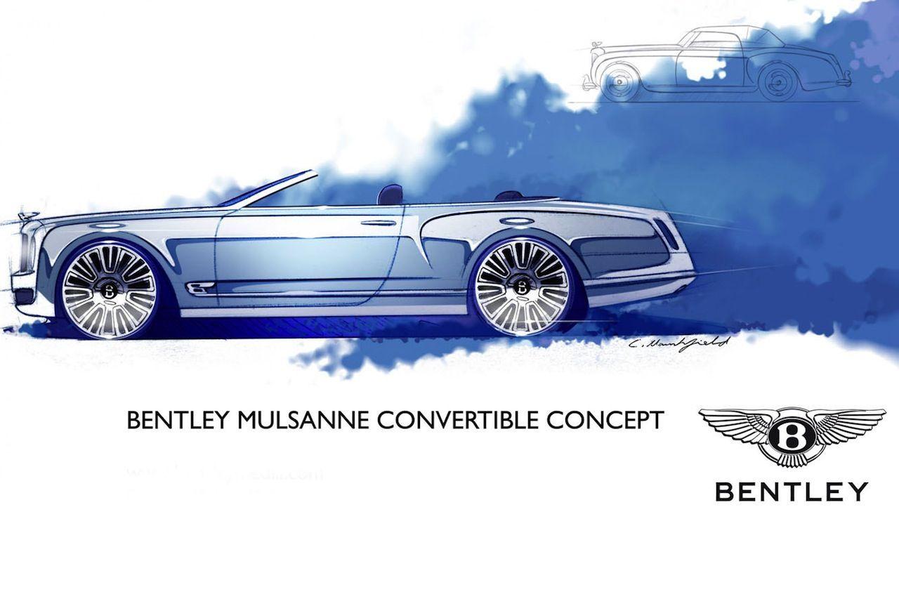 Pas de Mulsanne cabriolet chez Bentley