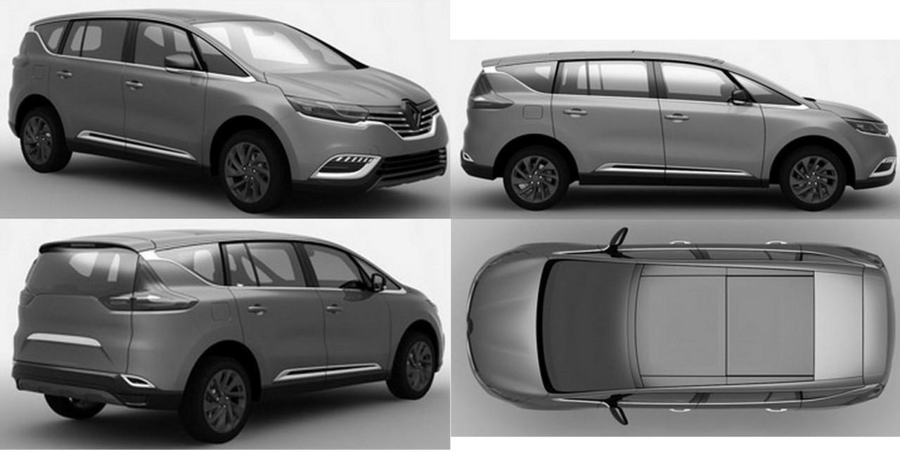 Des photos de brevet dévoilent le remplaçant du Renault Espace