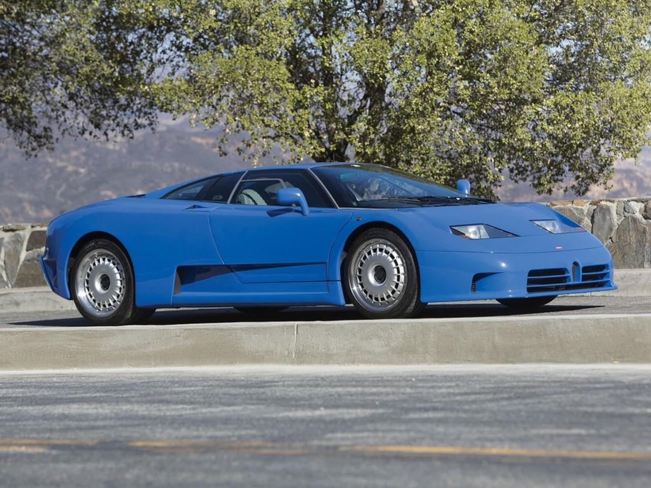 A vendre : une Bugatti EB110 de 1993 aux enchères