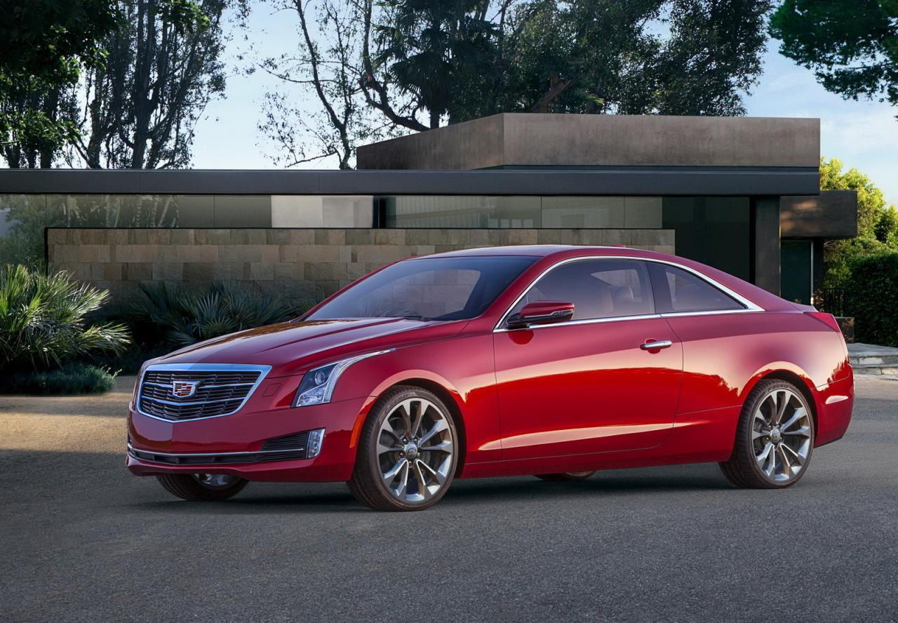 La nouvelle Cadillac ATS Coupé dévoilée au salon de Detroit 2014