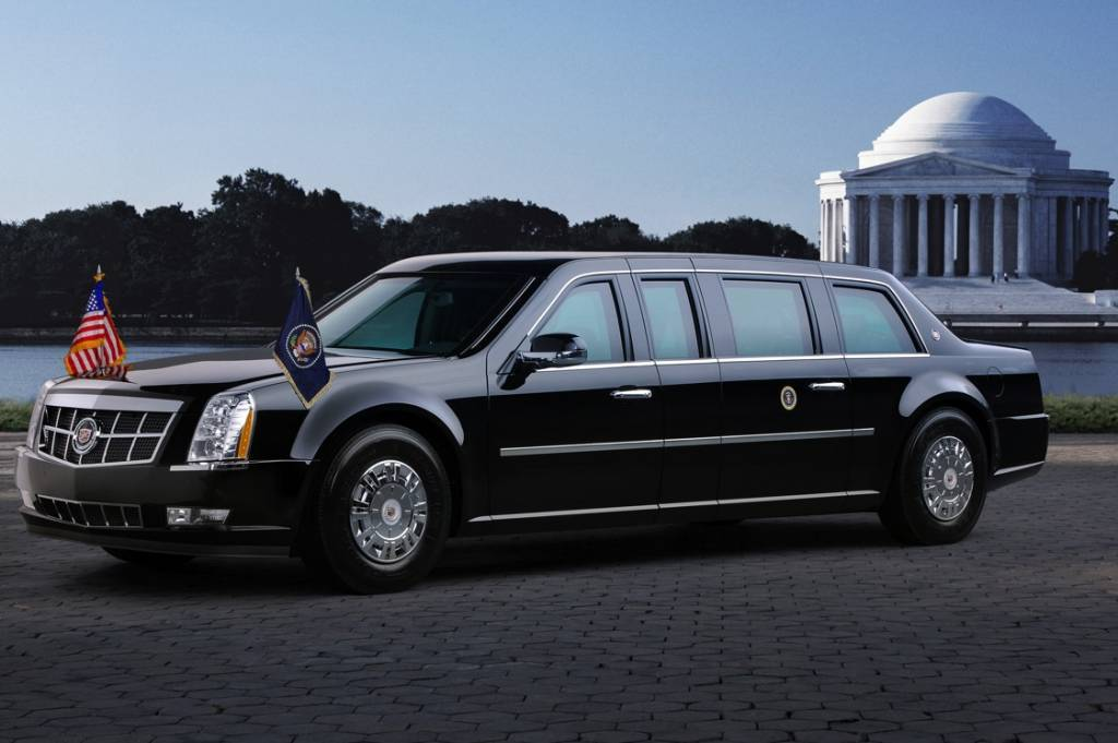 Obama et son tank limousine