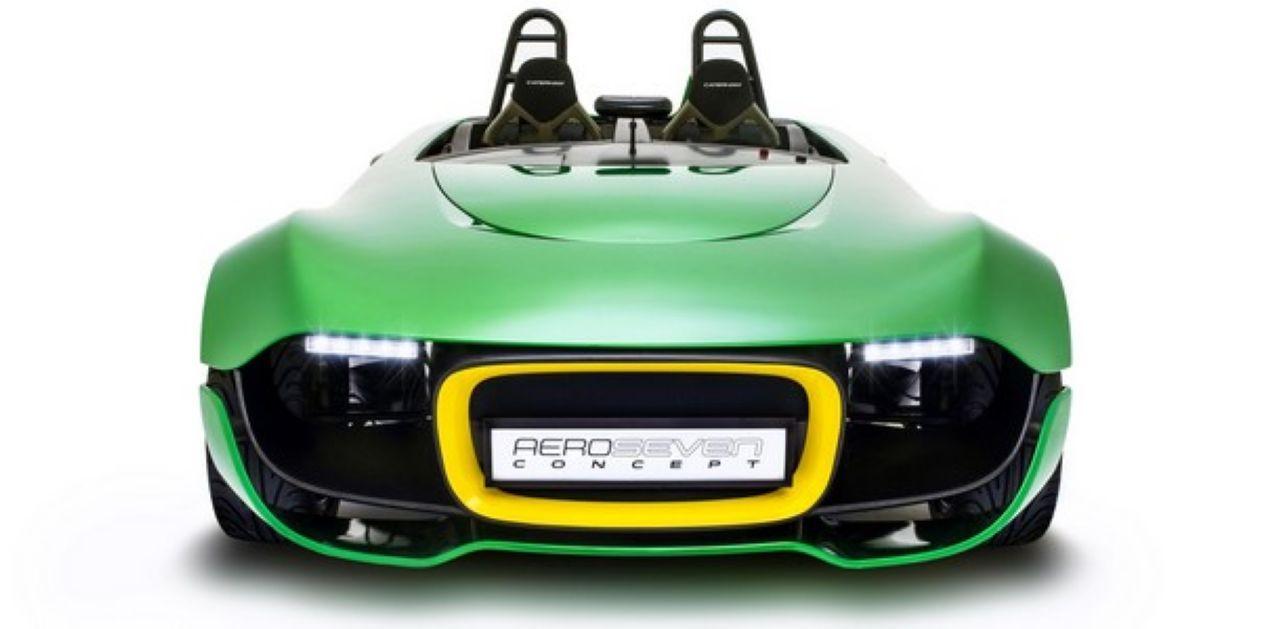Caterham Aero Seven Concept, un oil sur l'avenir