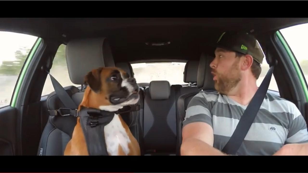 Vidéo : Vaughn Gittin Jr. emmène drifter son chien