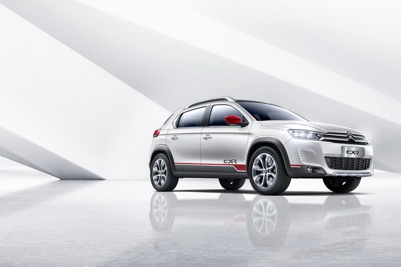 Citroën C-XR Concept : le 2008 chinois des chevrons